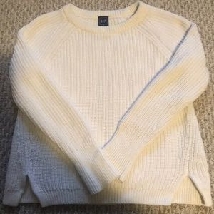 GAP 100 percent cotton sweater